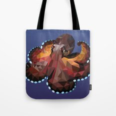 Geometric Octopus Tote Bag