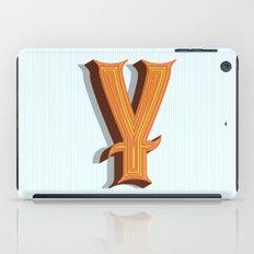 Letter Y iPad Case
