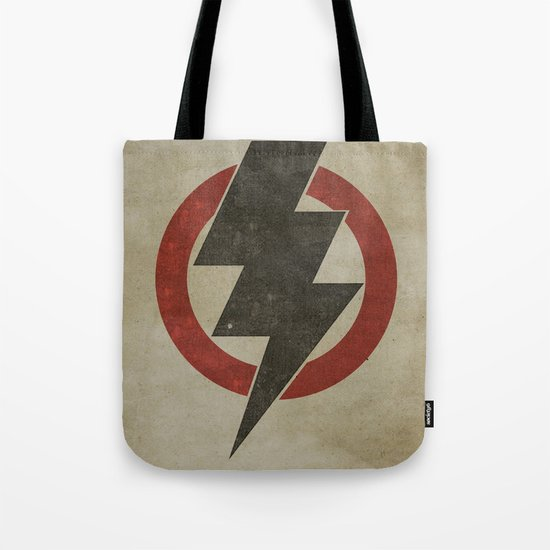 lightning strike zone Tote Bag