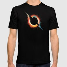 Void SMALL Black Mens Fitted Tee