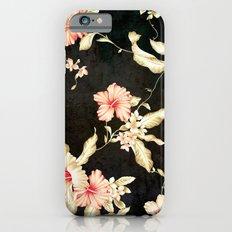 VINTAGE FLOWERS III - Fo… iPhone 6 Slim Case