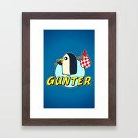 Pingu Time Framed Art Print