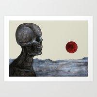 Doom Satellite Art Print