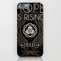 iPhone & iPod Case featuring HOPE IS RISING by Endure Brand