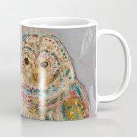 Jeweled Owl Mug