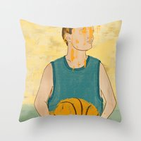 Losing My Love For Baske… Throw Pillow