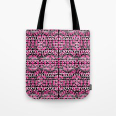 Tapestry Pattern Small Scale - Rose Tote Bag