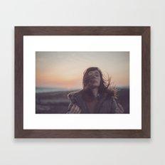 Sin Ningún Viento, Hazm… Framed Art Print