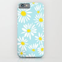 iPhone & iPod Case featuring White Daisies by Art Tree Designs