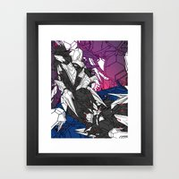 ULTRACRASH 7 Framed Art Print