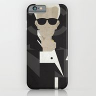 iPhone & iPod Case featuring Karl by B_U_R_T
