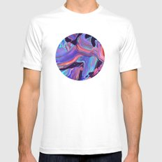 untitled abstract SMALL White Mens Fitted Tee