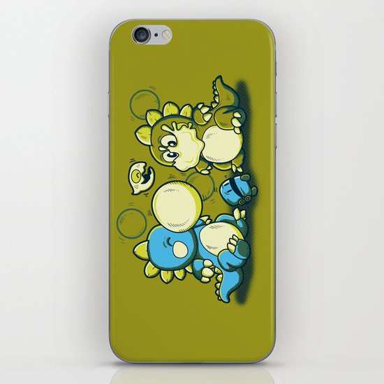BUBBLE JOKE iPhone & iPod Skin