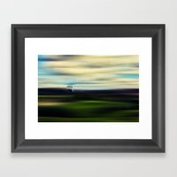 A Ball Of Loneliness In … Framed Art Print