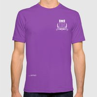 Academic Crest Mens Fitted Tee Ultraviolet SMALL