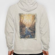 Blue Cola Mountain Hoody