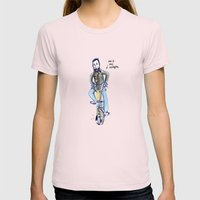 Me and My Brompton Womens Fitted Tee Light Pink SMALL