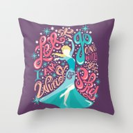 Frozen: Let It Go Throw Pillow