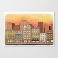 Apartments #7 Canvas Print