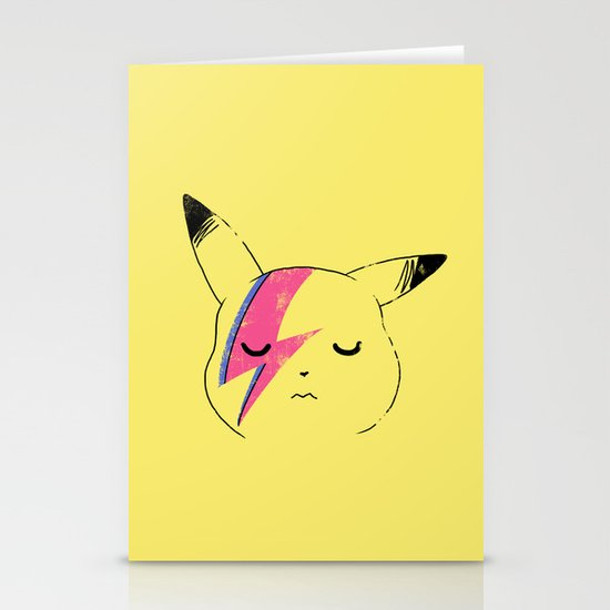 Pika Stardust Stationery Card