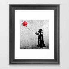 Little Vader - Inspired … Framed Art Print