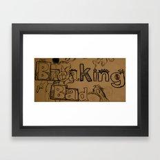 Break Bad Framed Art Print