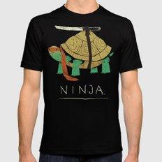 ninja Mens Fitted Tee SMALL Black