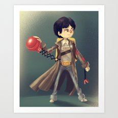 Data From The Goonies Art Print