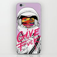 Give a Fuck iPhone & iPod Skin