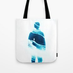 Love Isolation In Teal Tote Bag