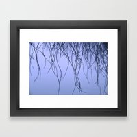 Morning dew Framed Art Print