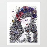 Fairest Flora Art Print