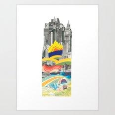 The Big City Art Print