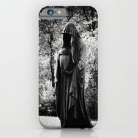 iPhone & iPod Case featuring Watch Walker by Cemetery Prints Inc.
