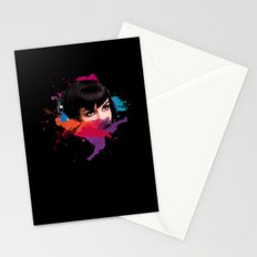 sexy stereo::famke Stationery Cards