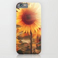 Sunflower. Slim Case iPhone 6s