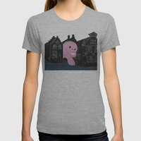 In Bruges I Womens Fitted Tee Athletic Grey SMALL