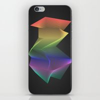 Angular Rainbow iPhone & iPod Skin
