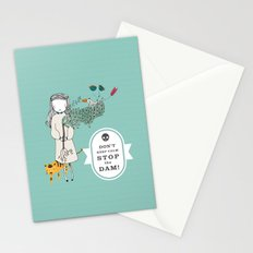 Save the world Stationery Cards