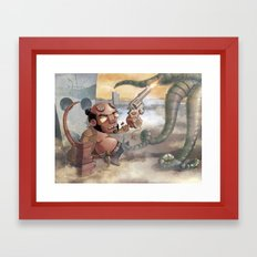 FROM HELL Framed Art Print