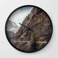 On the Edge Wall Clock