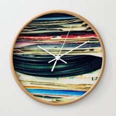 put your records on Wall Clock