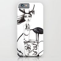 alice in wonderland iPhone & iPod Cases featuring Wonderland by lesinfin