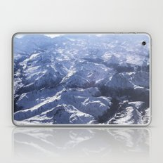White Mountains With Sno… Laptop & iPad Skin