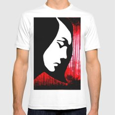 War Torn White Mens Fitted Tee SMALL