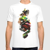 Color Study 1 Mens Fitted Tee White SMALL