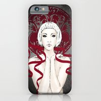 iPhone & iPod Case featuring I GAVE YOU A  RIBBON by Anna Maria Zaremba