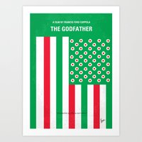 No028 My Godfather Minim… Art Print