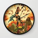 Babe of the Galaxy Wall Clock