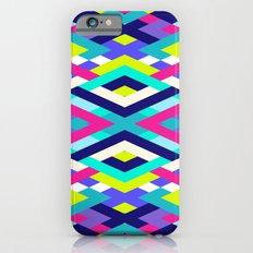 Smart Diagonals Pink iPhone 6 Slim Case